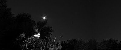 Scarecrow at night - Halloween holiday photography for Bindlegrim by Robert Aaron Wiley
