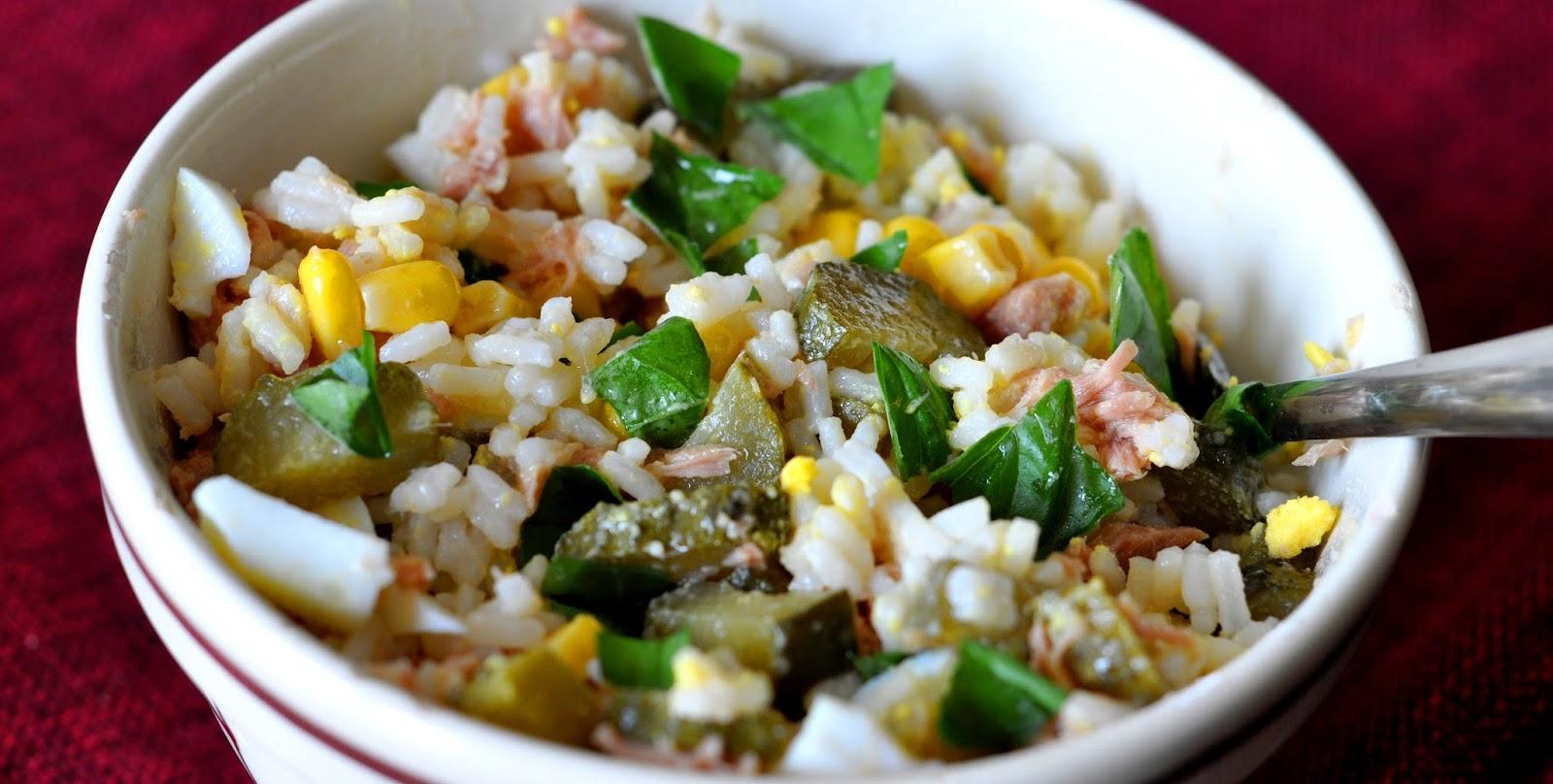 Рисовый салат рецепт с