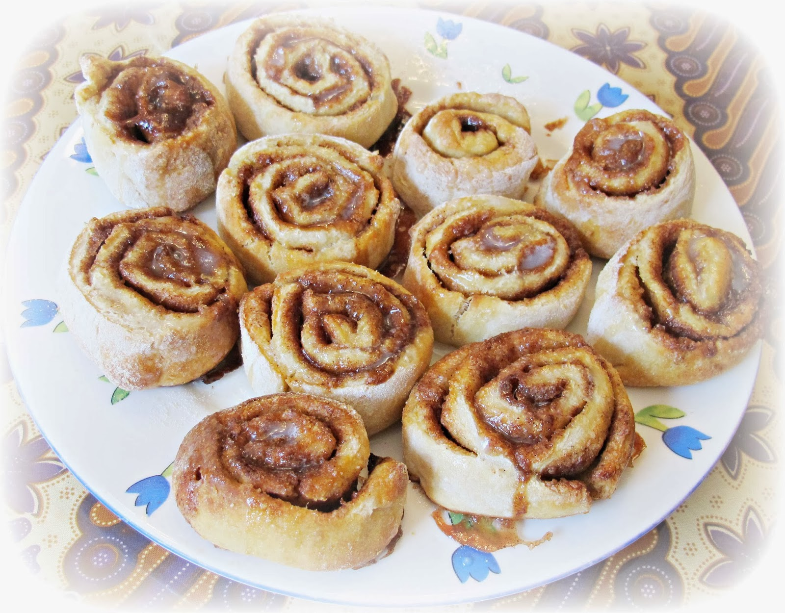 image recipe cinnamon scrolls roll low fat wholemeal whole wheat no yeast