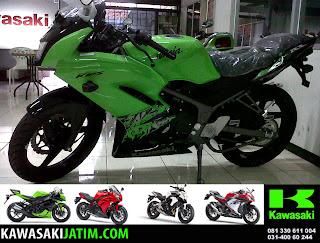 Ninja KRR 150RR Lime Green