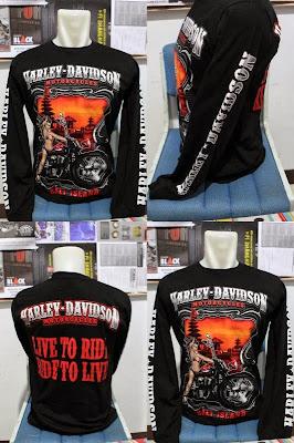shirt Harley Davidson Bali Island LS1