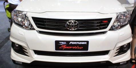 Three Versions Provide Toyota Fortuner TRD Sportivo New Machine!