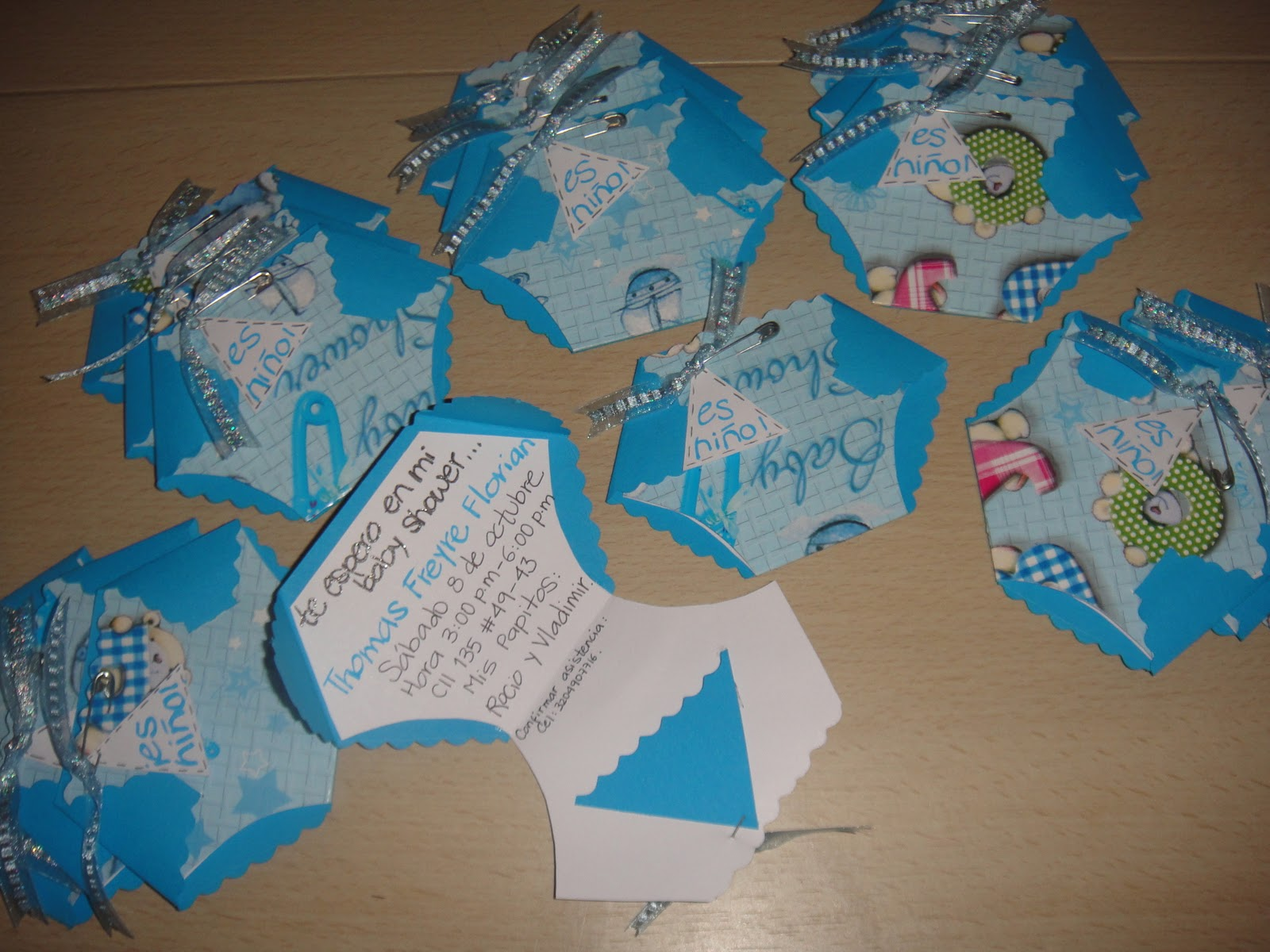Zatart Invitaciones Baby Shower