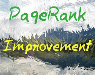 How do I improve my page rank Front