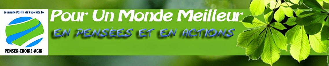 <center>Le Monde Positif de Pape Mor Lo</center>