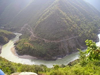 River Ganga near Rishikesh