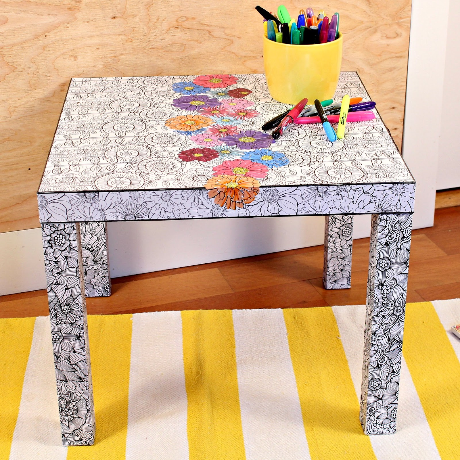 How To IKEA Hack Table Makeover