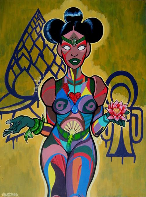 Kalkidan Assefa, Pink Lotus Isis