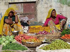 Fresh produce in Pushkar