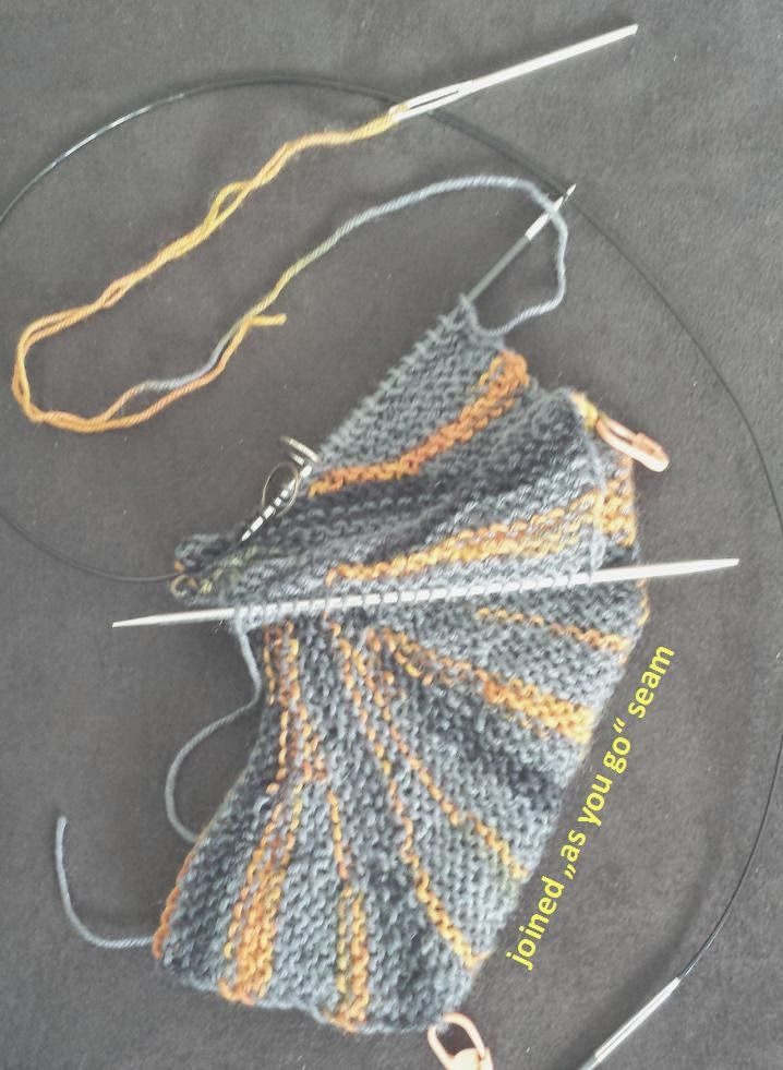 How Do You Graft Knitting Stitches Together : Knitting and so on: Starburst Mitts