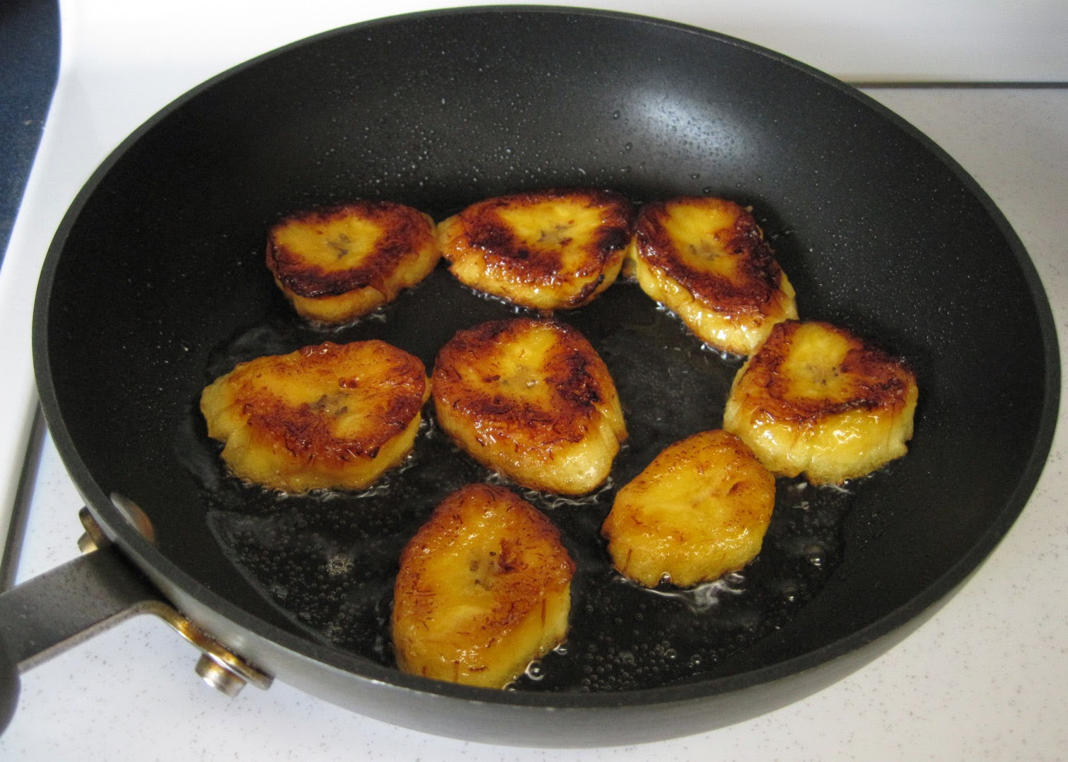 fried plantains, cooked plantain recipe