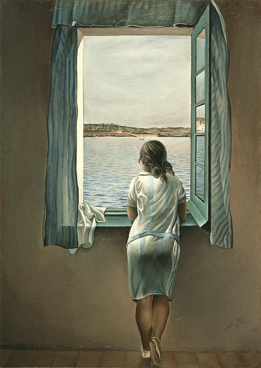 muchacha-ventana-dali