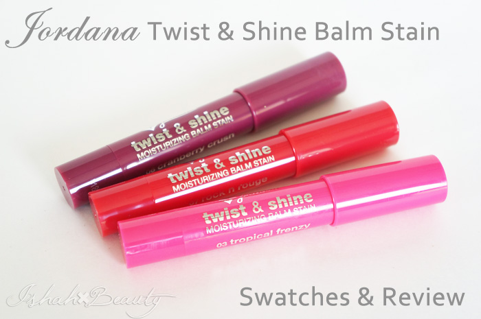 Lip Balm Stain Review and Swatches