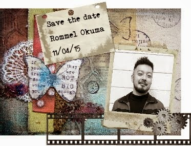 Save the date: Rommel Okuma 11/04/15