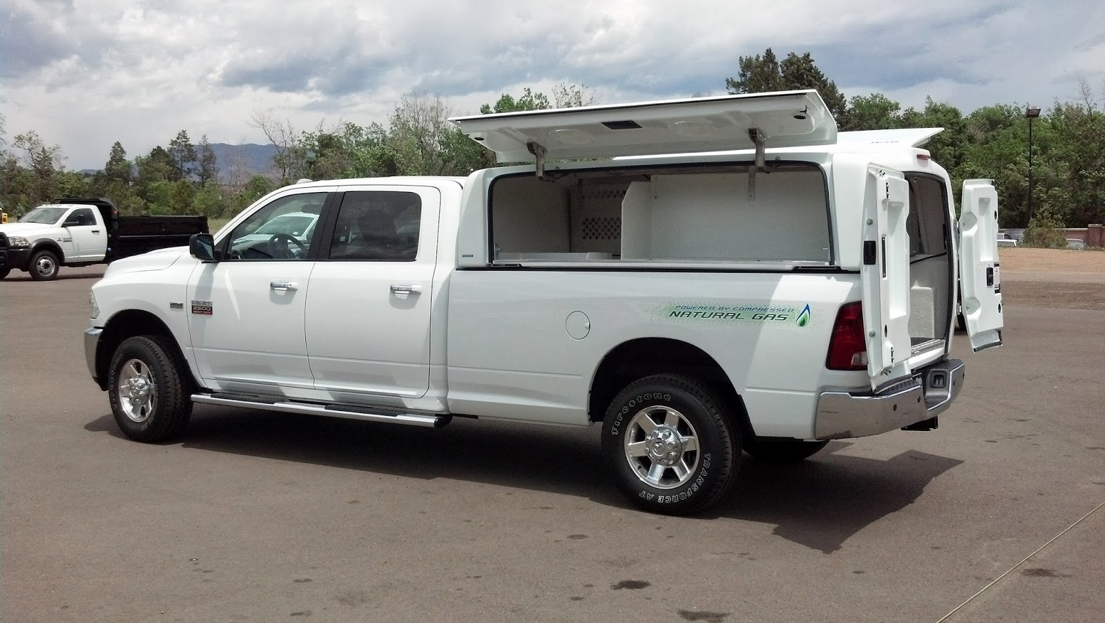 Service Body for CNG Pickup Trucks