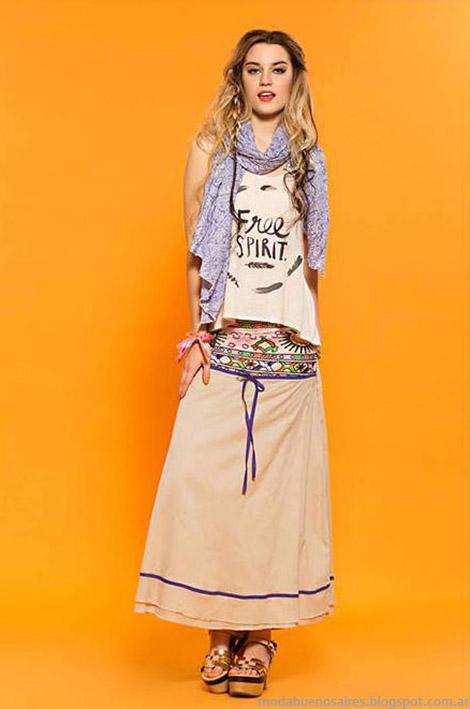 Faldas de moda verano 2015 Sophya.
