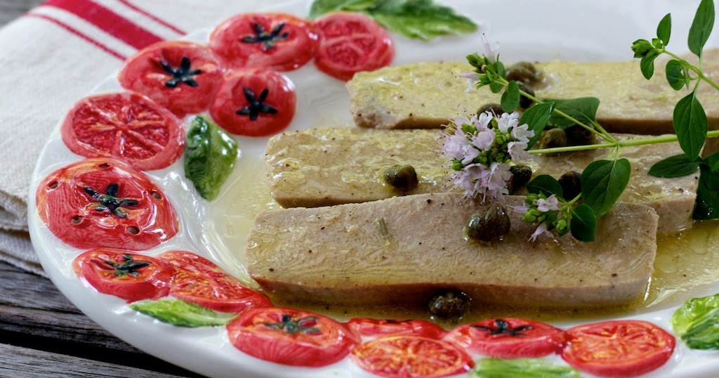 freshfromevaskitchen: Marinated Poached Fresh Tuna with