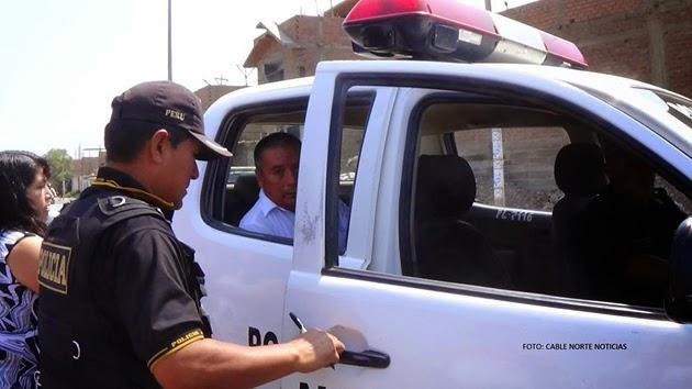 Vehículo de ex alcalde de Huaura choca con mototaxi