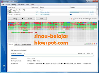 Instal Auslogics Disk Defrag 3.1 di Windows 7