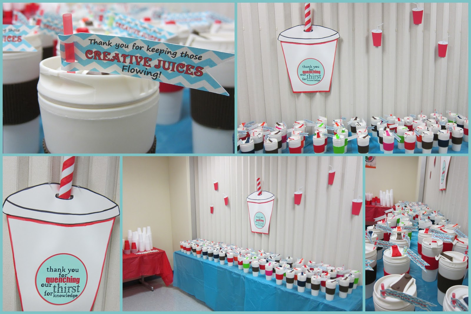 Classroom Ideas For Teacher Appreciation Week ~ Clearly candace more than apples teacher appreciation