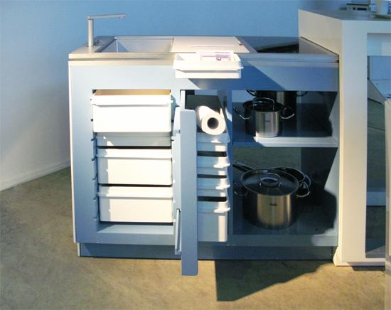 Mesa de cocina funcional, muebles de cocina modernos y creativos ...