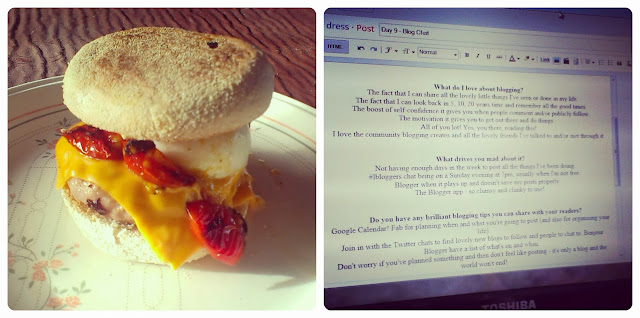 Sausage and Egg Muffin - Blog post writing