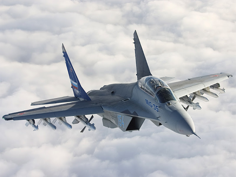 MiG-35 Fulcrum Fighter Aircraft