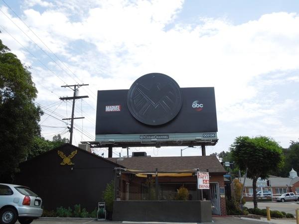 Agents of S.H.I.E.L.D. teaser billboard