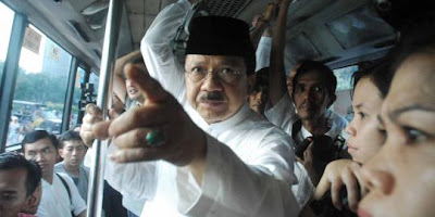 Jokowi Dukung Foke Jadi Calon Anggota DPR