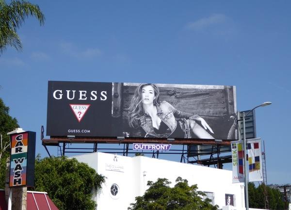 Guess FW 2015 billboard