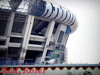Foto Stadion Gedebage Terkini Oktober 2012