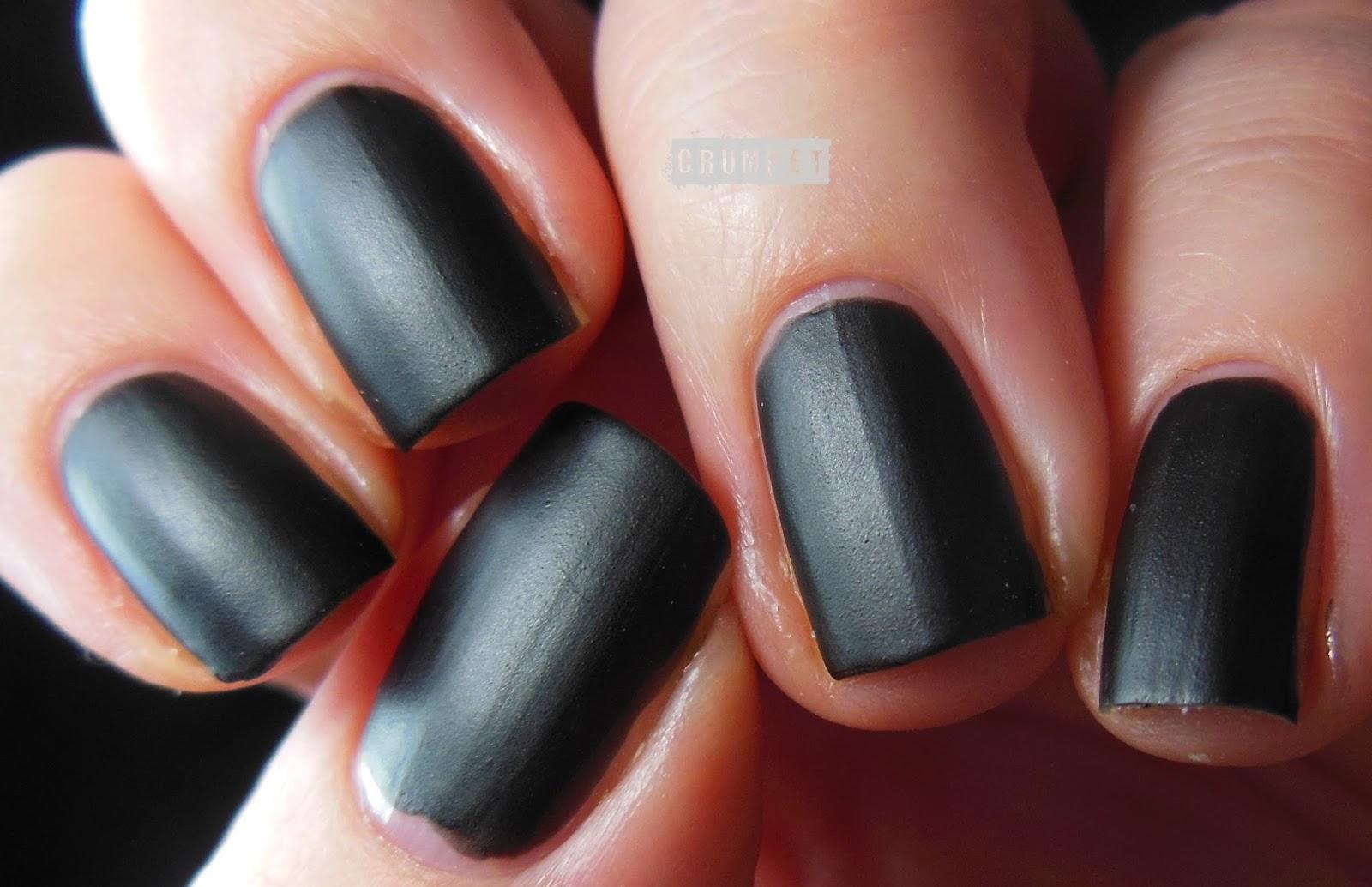 Dark Red Matte Nail Polish - Nails Gallery