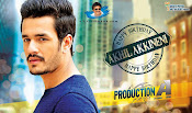 Akhil sayesha movie wallpapers-thumbnail-1