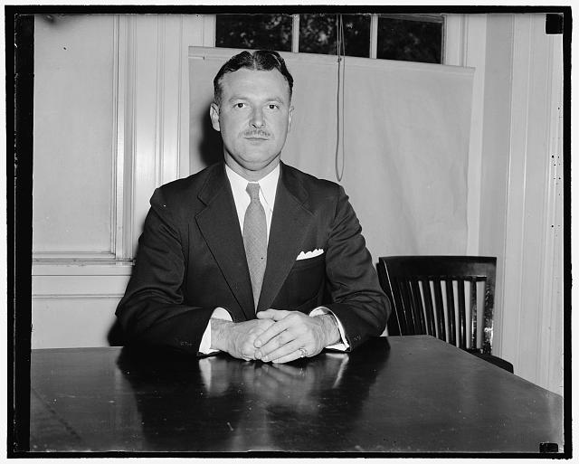 Paul Hart, secret service agent of W.H. , 1938