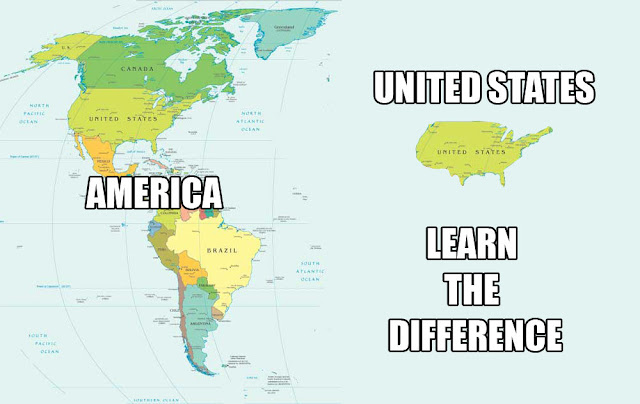 United States / America - Learn the difference