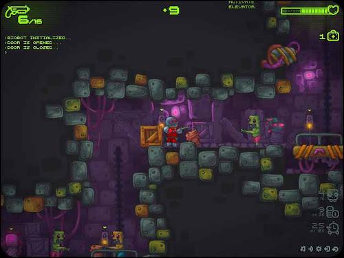 Flash-игра Zombotron