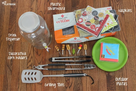 BBQ Supplies: How to Organize Grill Supplies | DIY Playbook