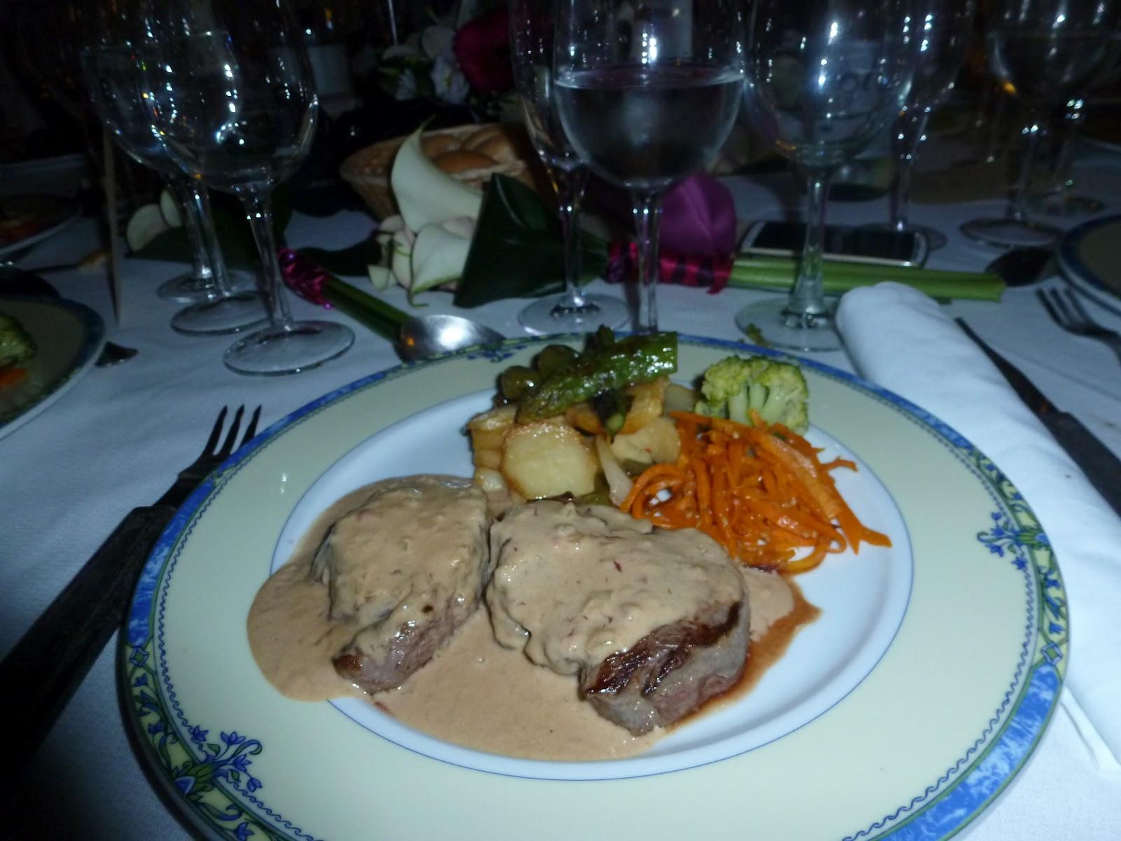 Dosis de lala nuestra boda parte ii el banquete - Cenas faciles para invitados ...