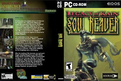 Legacy Of Kain Soul Reaver 1 PC CD Capa