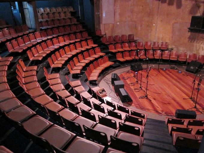Interior do Teatro Paiol de Curitiba