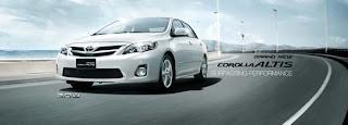 Gambar Mobil New Toyota Altis Terbaru