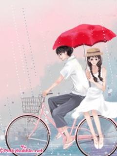 Sony Ericsson Spiro Rain Couple Wallpapers For Mobiles Cute Cartoon Free Lovers