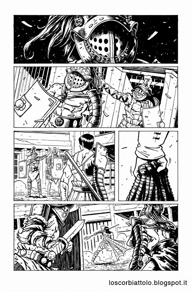 icon 1 e la squadra alpha pagina 20 chine inchiostri mirko treccani gladiatori gladiators inks