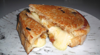 Grilled Cheese with Apple Onion Compote from Top Ate on Your Plate