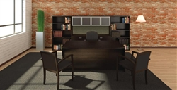 AM-406N Amber Executive Workstation