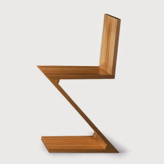 Dekogama dise os emblem ticos del siglo xx for Silla zig zag planos