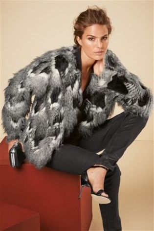 Next Womens Fur Coats - Coat Nj