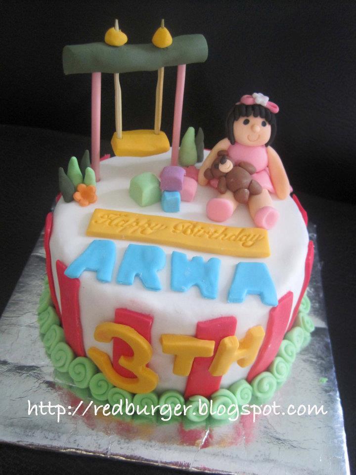 The Best Burgercupcake And Tart In Yogyakarta Playground Birthday