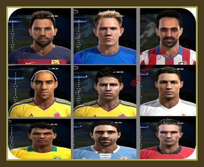 PES 2013 new facepack 29/05/15 by by midOo