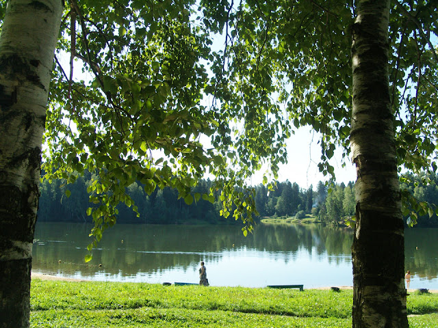 Сергиев Посад, Лесное озеро: любоваться можно, купаться – нет.